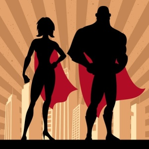 Book bloggers are superheroes
