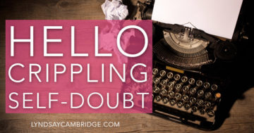 writers' self-doubt